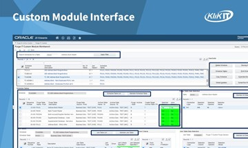 Purge-it! Version 5 Custom Module Interface for JD Edwards (JDE)