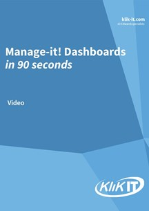 Manage-it! Dashboards. Analysing tool, database monitor and data copying tool